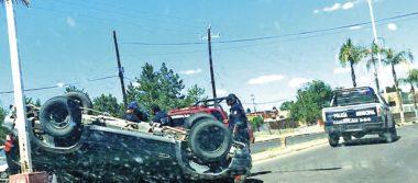 Dos accidentes viales dejan cuatro lesionados en Canatlán