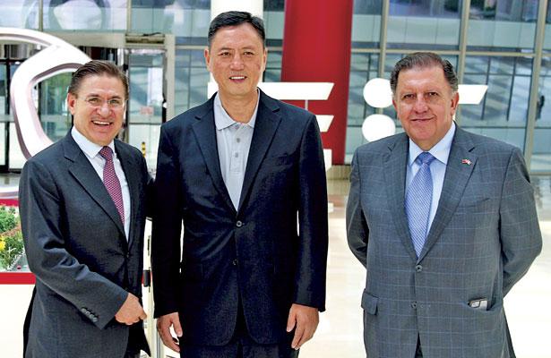 Reconoce empresa china manejo de Durango de energías limpias