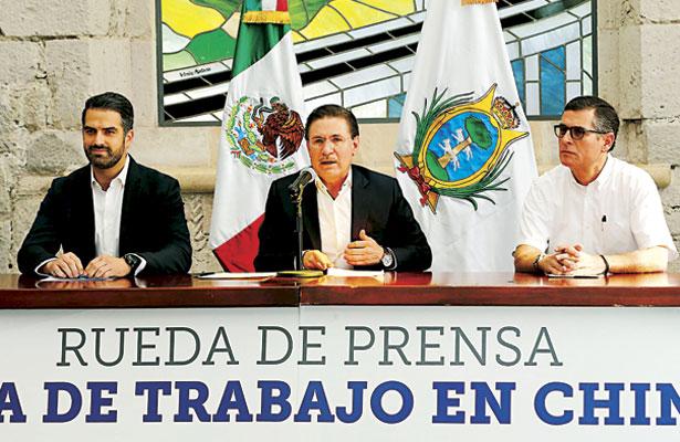 Daremos seguimiento a negociaciones con empresas chinas: Aispuro Torres