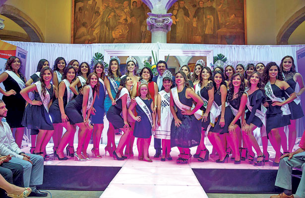 Presenta Municipio oficialmente a las candidatas a Reina del 454 Aniversario de la Ciudad