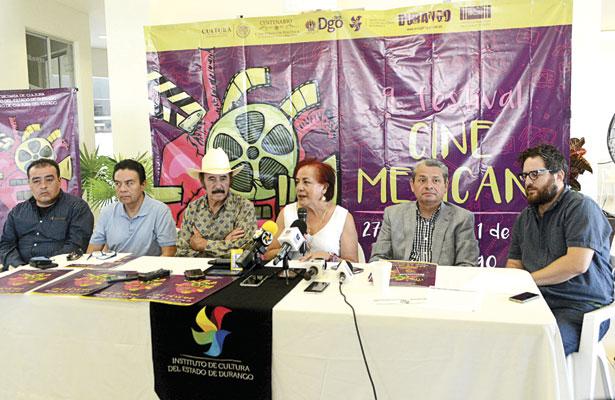 Noveno festival de cine mexicano será dedicado a Durango