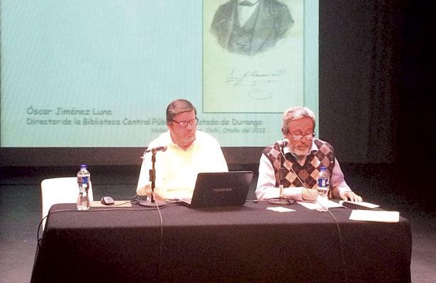 Óscar Jiménez  presentó ponencia
