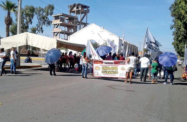 Bloquea la CNPA oficinas del DIF Estatal