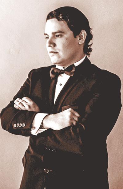 Kevin Luévanos estará acompañado del pianista Alfonso I. del Río Rochel