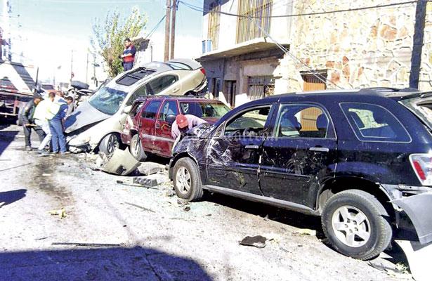 En 30 años seis camiones sin frenos han chocado a Cuencamé