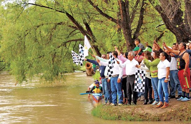 Arranca la 54° Regatadel Río Nazas, en Rodeo