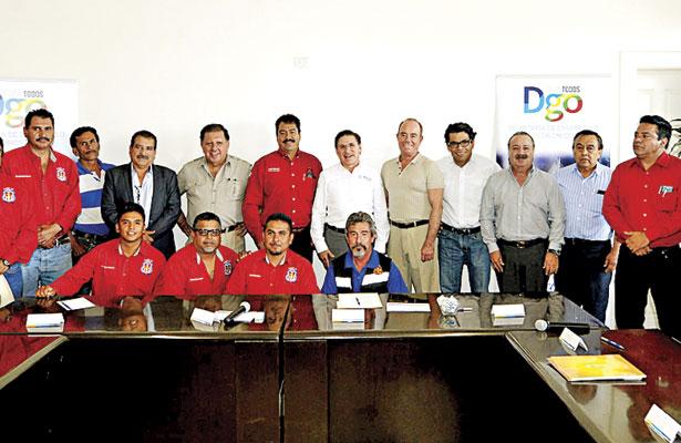 Signan convenio para reanudar labores en Cerro de Mercado