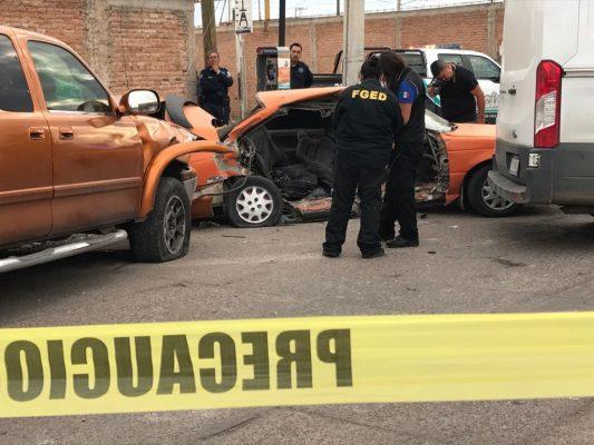 Choque mortal en la Col. Octavio Paz