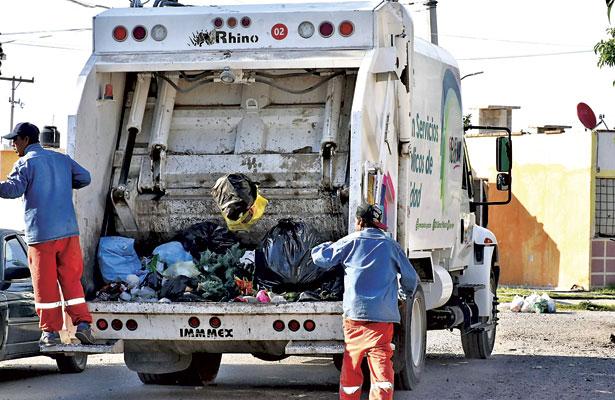 Cubiertas 100% las rutas de recolección de basura: SPM