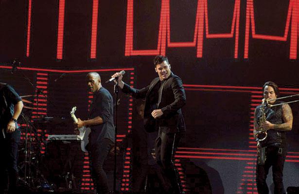 Ricky Martin rompe récord de asistencia de más de 35 mil personas