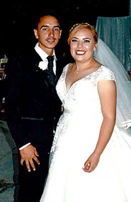 NUEVO IDEAL, Dgo. (OEM).- Rubí y Luis unieron sus vidas en matrimonio y se juraron amor eterno ante Dios, familiares y amigos.