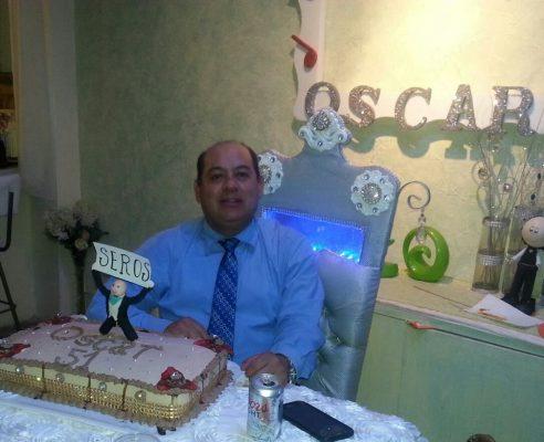CD. VICENTE GUERRERO, Dgo. (OEM).- Óscar Serrano Rodríguez celebró muy feliz en fecha reciente con sus seres queridos el día especial de su cumpleaños.