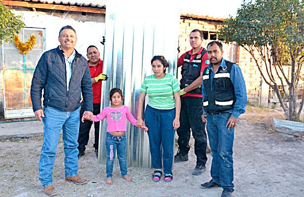 Lluvias en Poanas dañan 15 viviendas