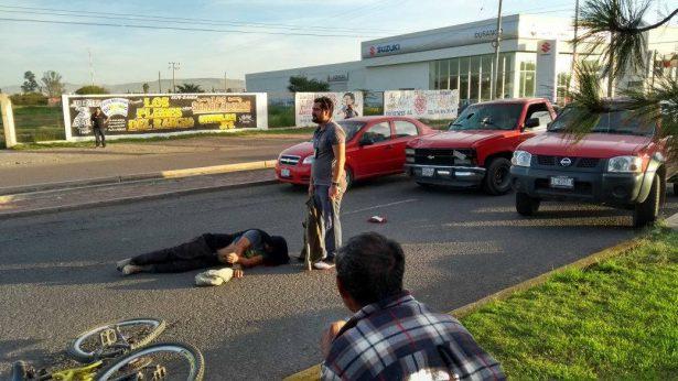 Grave ciclista atropellado