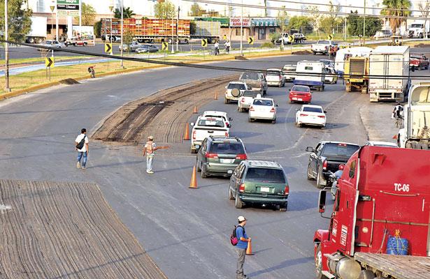 Renovarán carpeta asfáltica de Blvd. Ejército Mexicano