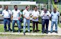 Al término de la contienda familiares de Héber Mercado Rentería recibieron un reconocimiento de parte de los organizadores y autoridades deportivas, donde también se premio al goleador del torneo.