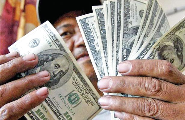 Sustancial aumento en el envío de remesas