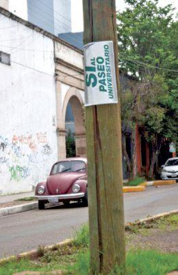 No han explicado cómo será la salida y entrada de vehículos en el Paseo Universitario: RK