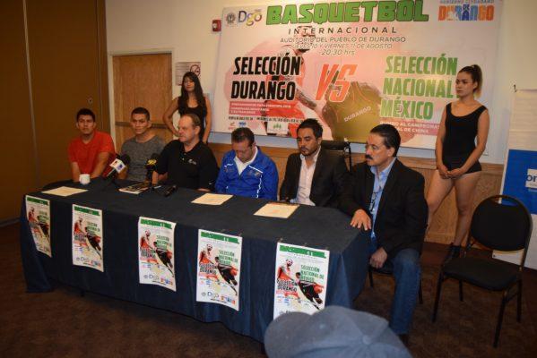 La Selección Nacional de Basquetbol llega a Durango