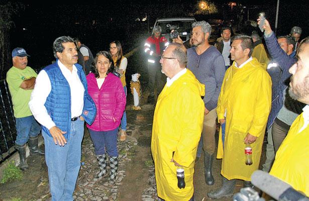 Recorre alcalde colonias en contingencia