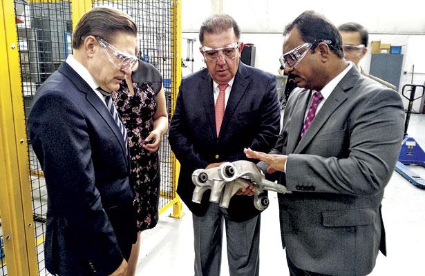 Instalarán en Durango planta de autopartes
