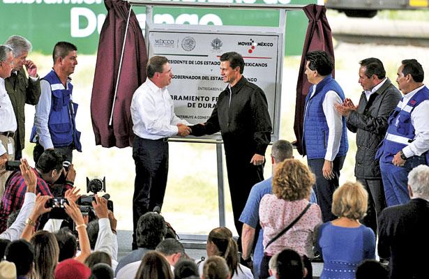 Entrega Peña Nieto el periférico del ferrocarril