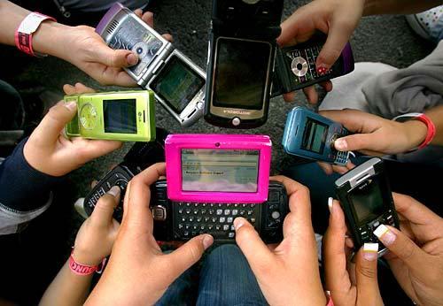 Urge regular usode celulares encentros de trabajo