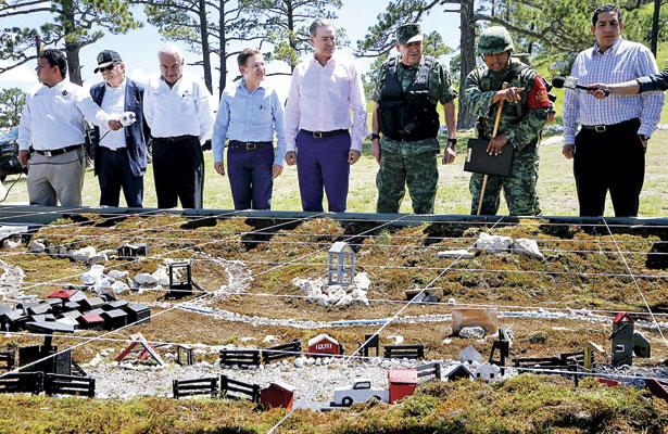 Acuerdan gobernadores blindar más límites de Durango y Sinaloa