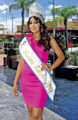 María Fernanda, una belleza con corona