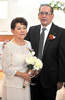 Bodas de oro de Aquiles Castañeda  y Mercedes Parra