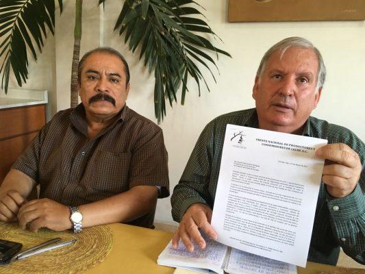 Piden ser excluidos del TLCAN productores lecheros