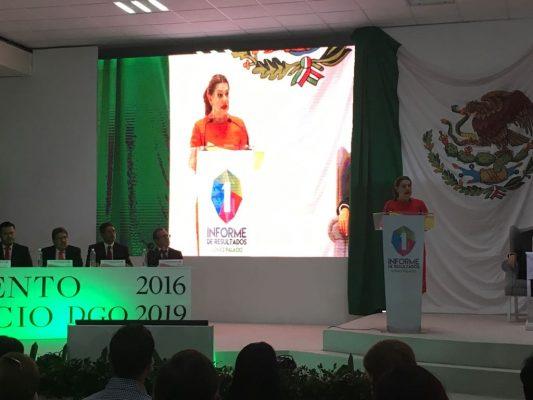 Presenta Leticia Herrera primer informe de actividades