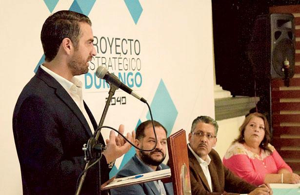 Presenta el CCE Proyecto de Desarrollo Estratégico Durango 2040