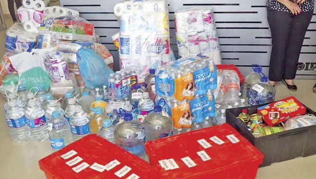 Toneladas de víveres para afectados, depositan en oficinas de DIF Gómez