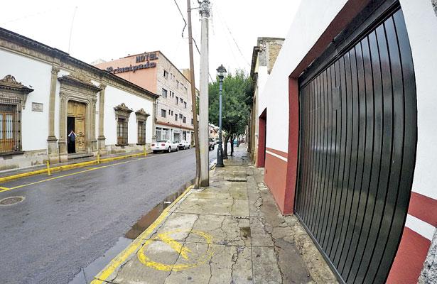 """Reubican """"Tambitos"""" a la calle Bruno Martínez, frente a la Casa de Gobierno"""