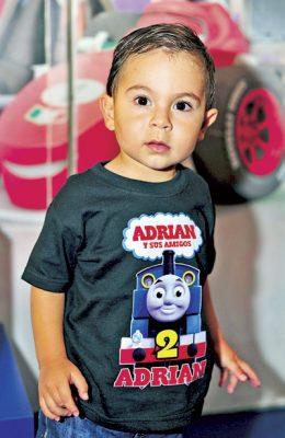 Felices 2 años para Adrián