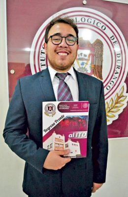 Examen profesional de Armando Ortiz Montenegro