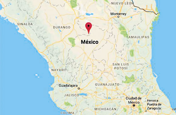 Se registra sismo en límites de Durango y Zacatecas