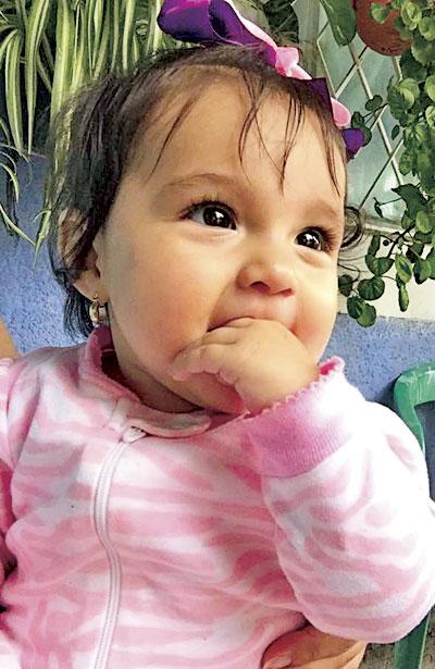 SAN JUAN DEL RÍO, Dgo. (OEM).- La hermosa bebé Miranda Soto Ríos, engalana las páginas de El Sol.