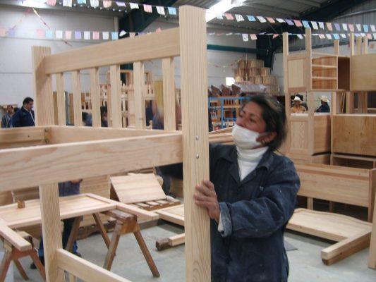 Impacta en industria mueblera reducciónde extracción de madera por lluvias: MI