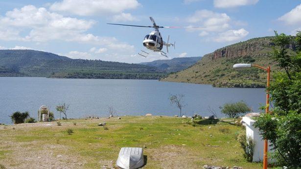 Sigue búsqueda del deportista perdido en la presa Santiago Bayacora