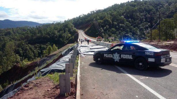 Abren circulación de un carril de la Supercarretera Durango – Mazatlán