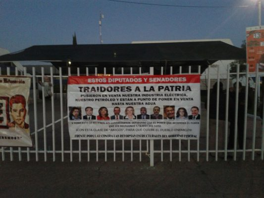 Maestros de la CNTE no dejarán oficinas de la SEED: Gaucín