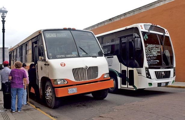 Aplican 40 infracciones  a autobuses de ruta