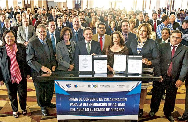 Sumamos esfuerzos para brindar agua de calidad para todos: Aispuro Torres