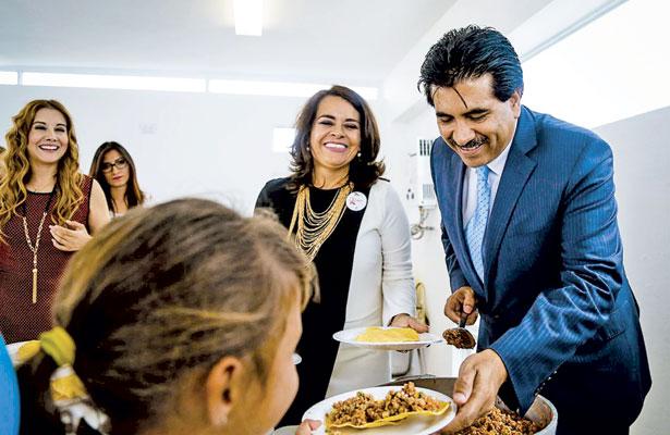 Entrega Municipiocomedor escolaren la coloniaIgnacio Zaragoza