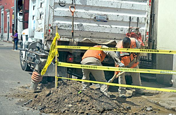 Inició Municipio recuperaciónde carpeta asfáltica en cruceros