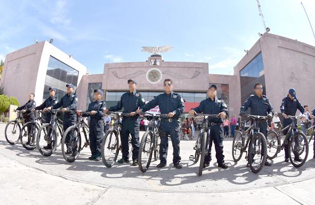 Refuerzan vigilancia en sector centro de GP