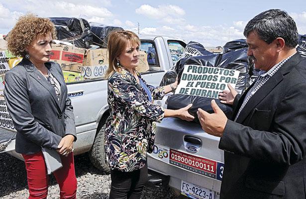 Recolectadas más de 170 tons. de ayuda: Elvira Barrantes