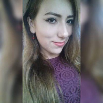 SAN JUAN DEL RÍO, Dgo. (OEM).- Vanesa García, linda chica originaria de San Lucas de Ocampo.